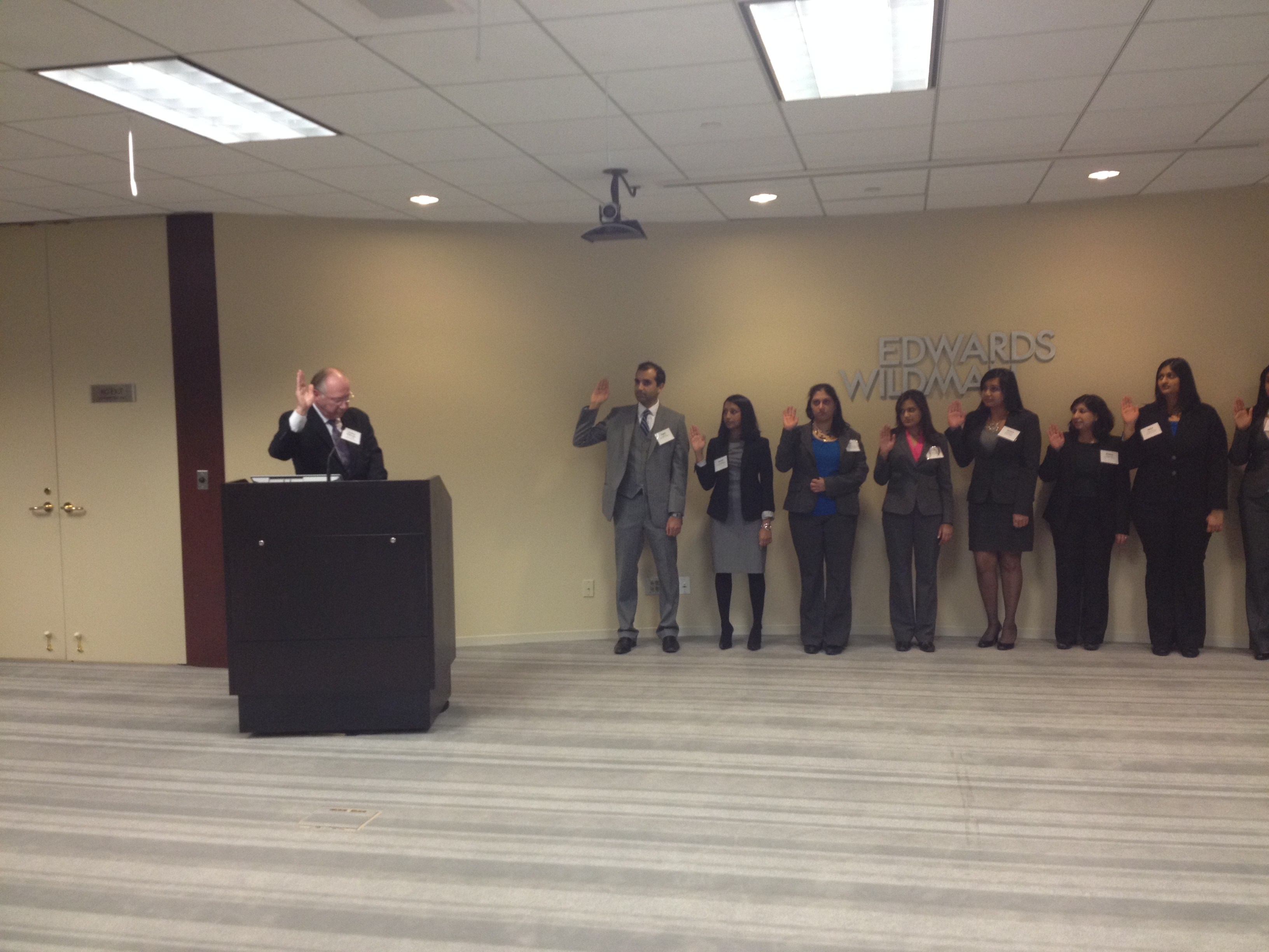 2014 IABA Installation Ceremony